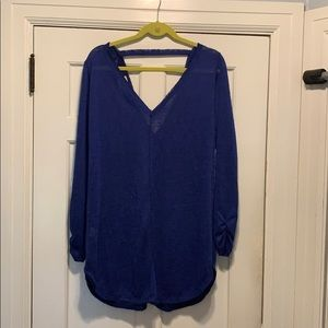 Purple sweater, new with tags, never worn
